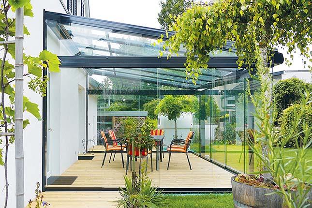 Terrassendach aus Aluminium Cielo