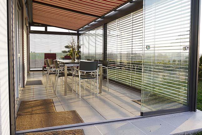 Terrassenüberdachung Diafano