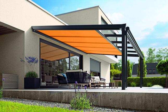 Unterglasmarkisen, Terrassendachmarkisen von Mayr ZTW für Ihr Terrassendach